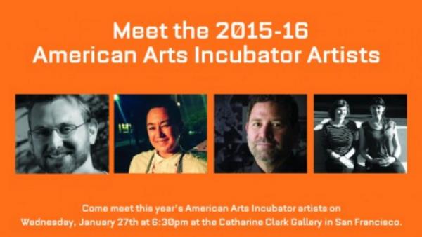 Meet ZERO1's 2015-16 American Arts Incubator Artists