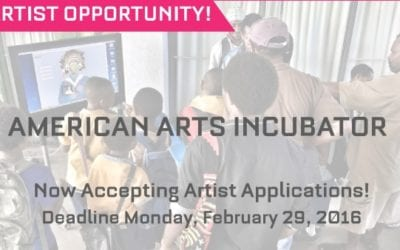 Apply now to participate in the 2016-17 American Arts Incubator!