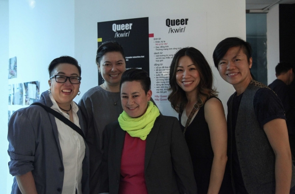 Asian American Queer delegation from LA