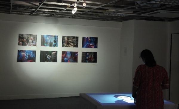Photographs and video installation by Bùi Hoàng Long