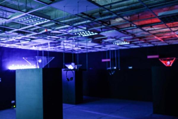 hologram installation