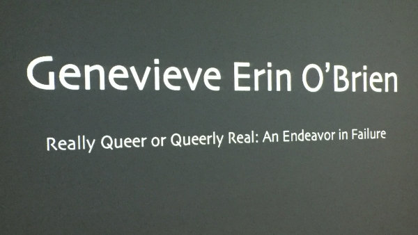 Really Queer or Queerly Real: An Endeavor in Failure
