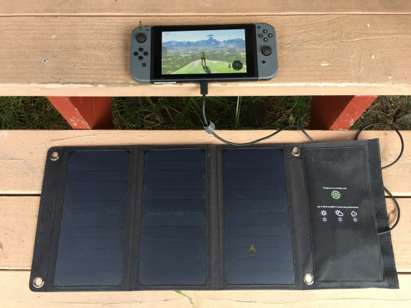 Solar Powered Nintendo Switch